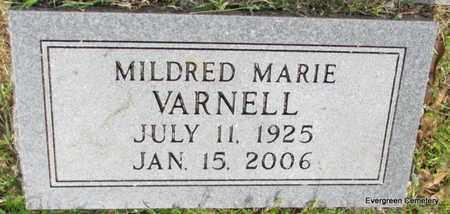 VARNELL, MILDRED MARIE - White County, Arkansas | MILDRED MARIE VARNELL - Arkansas Gravestone Photos