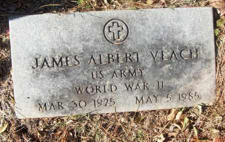 VEACH (VETERAN WWII), JAMES ALBERT - White County, Arkansas | JAMES ALBERT VEACH (VETERAN WWII) - Arkansas Gravestone Photos