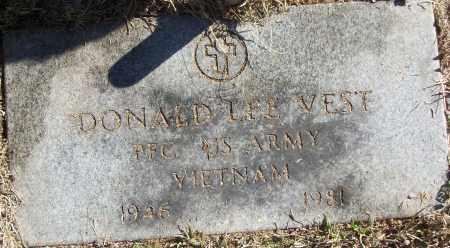 VEST (VETERAN VIET), DONALD LEE - White County, Arkansas   DONALD LEE VEST (VETERAN VIET) - Arkansas Gravestone Photos