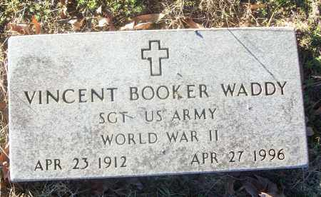 WADDY (VETERAN WWII), VINCENT BOOKER - White County, Arkansas | VINCENT BOOKER WADDY (VETERAN WWII) - Arkansas Gravestone Photos