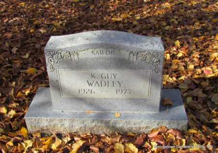 WADLEY (VETERAN), K GUY - White County, Arkansas | K GUY WADLEY (VETERAN) - Arkansas Gravestone Photos