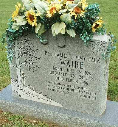 WAIRE, JAMES - White County, Arkansas | JAMES WAIRE - Arkansas Gravestone Photos