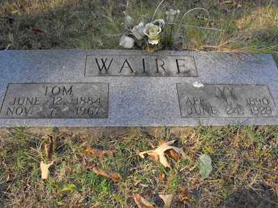 COOTS WAIRE, IVY MAE - White County, Arkansas   IVY MAE COOTS WAIRE - Arkansas Gravestone Photos