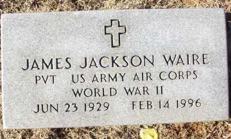 WAIRE (VETERAN WWII), JAMES JACKSON - White County, Arkansas | JAMES JACKSON WAIRE (VETERAN WWII) - Arkansas Gravestone Photos
