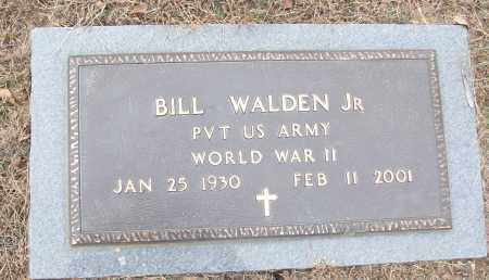 WALDEN, JR (VETERAN WWII), BILL - White County, Arkansas | BILL WALDEN, JR (VETERAN WWII) - Arkansas Gravestone Photos