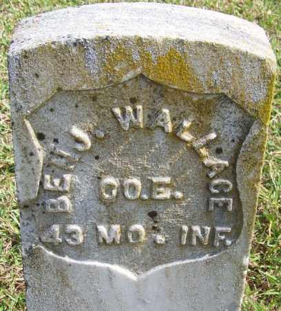WALLACE (VETERAN UNION), BENJAMIN - White County, Arkansas | BENJAMIN WALLACE (VETERAN UNION) - Arkansas Gravestone Photos