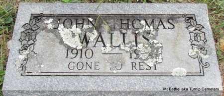 WALLIS, JOHN THOMAS - White County, Arkansas   JOHN THOMAS WALLIS - Arkansas Gravestone Photos