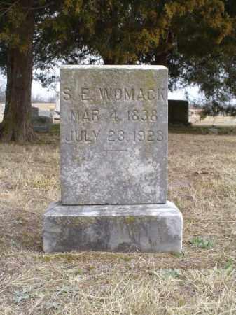 WARD WOMACK, SARAH ELIZA - White County, Arkansas | SARAH ELIZA WARD WOMACK - Arkansas Gravestone Photos