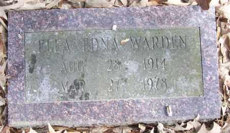 WARDEN, ELLA EDNA - White County, Arkansas | ELLA EDNA WARDEN - Arkansas Gravestone Photos