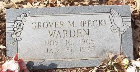 WARDEN, GROVER M. (PECK) - White County, Arkansas | GROVER M. (PECK) WARDEN - Arkansas Gravestone Photos