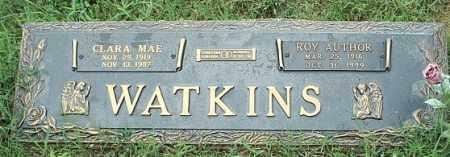 WATKINS, CLARA MAE - White County, Arkansas   CLARA MAE WATKINS - Arkansas Gravestone Photos