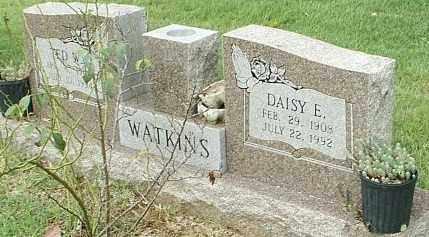 WATKINS, DAISY E - White County, Arkansas | DAISY E WATKINS - Arkansas Gravestone Photos