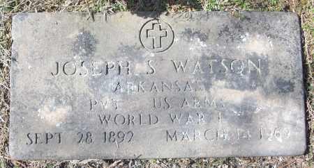 WATSON (VETERAN WWI), JOSEPH S - White County, Arkansas | JOSEPH S WATSON (VETERAN WWI) - Arkansas Gravestone Photos