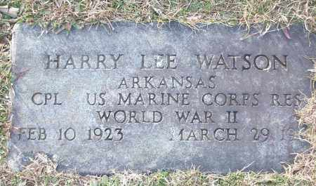 WATSON (VETERAN WWII), HARRY LEE - White County, Arkansas | HARRY LEE WATSON (VETERAN WWII) - Arkansas Gravestone Photos