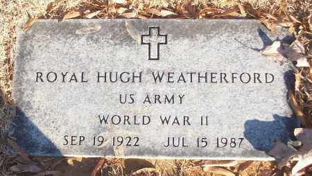 WEATHERFORD (VETERAN WWII), ROYAL HUGH - White County, Arkansas | ROYAL HUGH WEATHERFORD (VETERAN WWII) - Arkansas Gravestone Photos