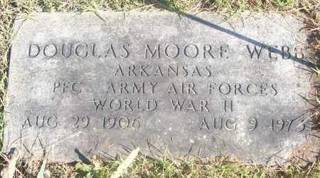 WEBB  (VETERAN WWII), DOUGLAS MOORE - White County, Arkansas | DOUGLAS MOORE WEBB  (VETERAN WWII) - Arkansas Gravestone Photos