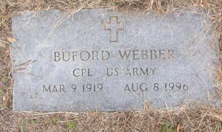 WEBBER (VETERAN), BUFORD - White County, Arkansas | BUFORD WEBBER (VETERAN) - Arkansas Gravestone Photos