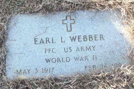 WEBBER (VETERAN WWII), EARL L - White County, Arkansas | EARL L WEBBER (VETERAN WWII) - Arkansas Gravestone Photos