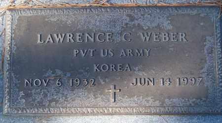 WEBER (VETERAN KOR), LAWRENCE C - White County, Arkansas | LAWRENCE C WEBER (VETERAN KOR) - Arkansas Gravestone Photos