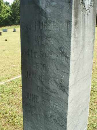 WEIR 2 (VETERAN), HUBERT T - White County, Arkansas | HUBERT T WEIR 2 (VETERAN) - Arkansas Gravestone Photos