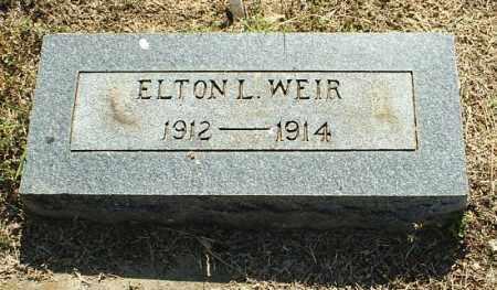 WEIR, ELTON L - White County, Arkansas | ELTON L WEIR - Arkansas Gravestone Photos