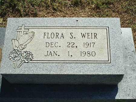 WEIR, FLORA S - White County, Arkansas | FLORA S WEIR - Arkansas Gravestone Photos