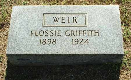 WEIR, FLOSSIE - White County, Arkansas | FLOSSIE WEIR - Arkansas Gravestone Photos