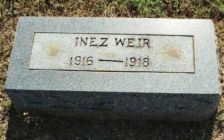 WEIR, INEZ - White County, Arkansas | INEZ WEIR - Arkansas Gravestone Photos