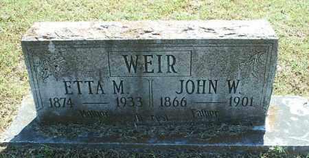 WEIR, JOHN W - White County, Arkansas | JOHN W WEIR - Arkansas Gravestone Photos