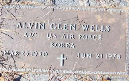 WELLS (VETERAN KOR), ALVIN GLEN - White County, Arkansas   ALVIN GLEN WELLS (VETERAN KOR) - Arkansas Gravestone Photos