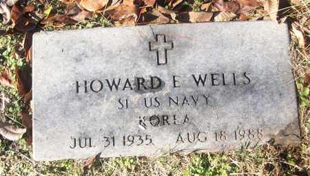 WELLS (VETERAN KOR), HOWARD E - White County, Arkansas | HOWARD E WELLS (VETERAN KOR) - Arkansas Gravestone Photos