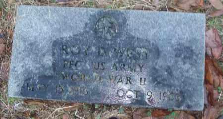 WEST (VETERAN WWII), ROY D - White County, Arkansas   ROY D WEST (VETERAN WWII) - Arkansas Gravestone Photos