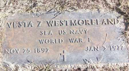 WESTMORELAND (VETERAN WWI), VESTA Z - White County, Arkansas | VESTA Z WESTMORELAND (VETERAN WWI) - Arkansas Gravestone Photos