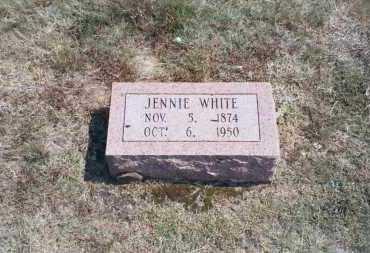 WHITE, VIRGINIA JOSEPHINE - White County, Arkansas | VIRGINIA JOSEPHINE WHITE - Arkansas Gravestone Photos