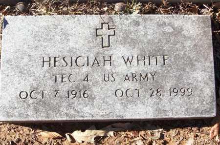 WHITE (VETERAN), HESICIAH - White County, Arkansas   HESICIAH WHITE (VETERAN) - Arkansas Gravestone Photos