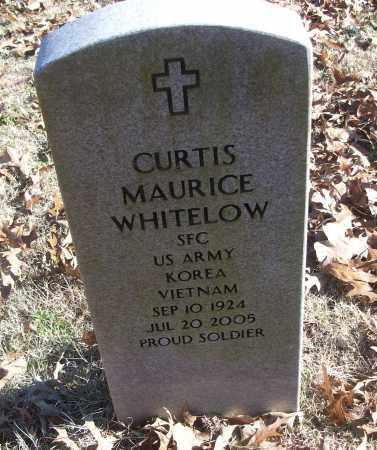 WHITELOW (VETERAN 2 WARS), CURTIS MAURICE - White County, Arkansas | CURTIS MAURICE WHITELOW (VETERAN 2 WARS) - Arkansas Gravestone Photos