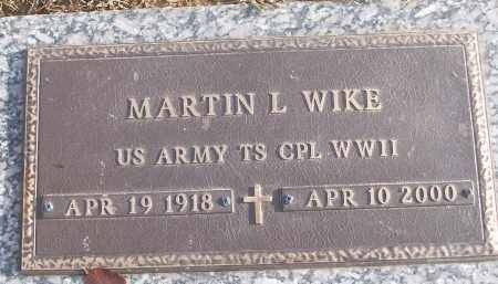 WIKE (VETERAN WWII), MARIN L - White County, Arkansas | MARIN L WIKE (VETERAN WWII) - Arkansas Gravestone Photos