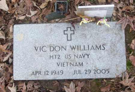 WILLIAMS  (VETERAN VIET), VIC DON - White County, Arkansas | VIC DON WILLIAMS  (VETERAN VIET) - Arkansas Gravestone Photos