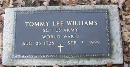 WILLIAMS  (VETERAN WWII), TOMMY LEE - White County, Arkansas | TOMMY LEE WILLIAMS  (VETERAN WWII) - Arkansas Gravestone Photos
