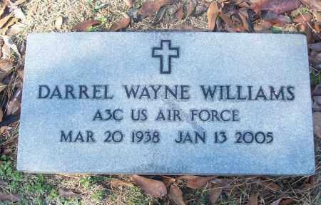 WILLIAMS (VETERAN), DARRELL WAYNE - White County, Arkansas   DARRELL WAYNE WILLIAMS (VETERAN) - Arkansas Gravestone Photos