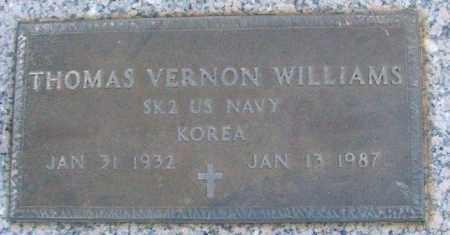 WILLIAMS (VETERAN KOR), THOMAS VERNON - White County, Arkansas | THOMAS VERNON WILLIAMS (VETERAN KOR) - Arkansas Gravestone Photos