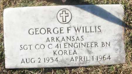 WILLIS (VETERAN KOR), GEORGE FRANKLIN - White County, Arkansas | GEORGE FRANKLIN WILLIS (VETERAN KOR) - Arkansas Gravestone Photos