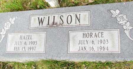 WILSON, HORACE - White County, Arkansas   HORACE WILSON - Arkansas Gravestone Photos