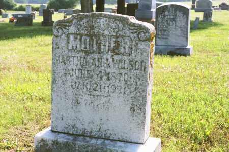 MILLER WILSON, MARTHA ANN - White County, Arkansas | MARTHA ANN MILLER WILSON - Arkansas Gravestone Photos