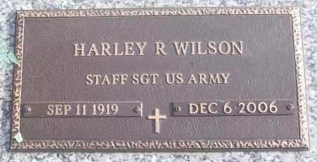 WILSON (VETERAN), HARLEY R - White County, Arkansas | HARLEY R WILSON (VETERAN) - Arkansas Gravestone Photos