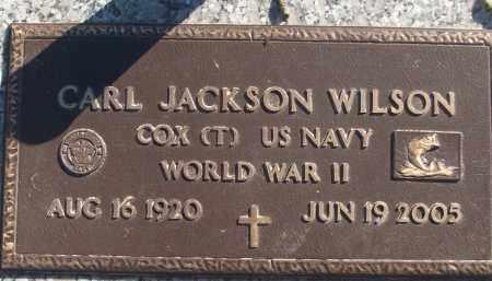 WILSON (VETERAN WWII), CARL JACKSON - White County, Arkansas | CARL JACKSON WILSON (VETERAN WWII) - Arkansas Gravestone Photos