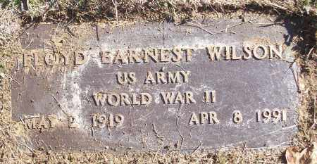 WILSON (VETERAN WWII), FLOYD EARNEST - White County, Arkansas | FLOYD EARNEST WILSON (VETERAN WWII) - Arkansas Gravestone Photos