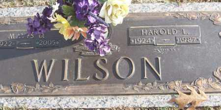 WILSON (VETERAN WWII), HAROLD L - White County, Arkansas | HAROLD L WILSON (VETERAN WWII) - Arkansas Gravestone Photos