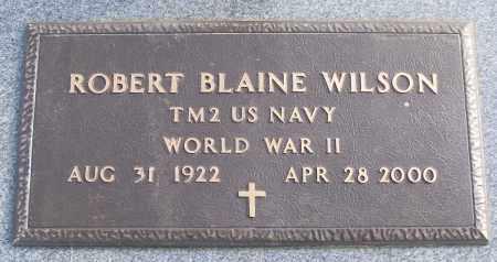 WILSON (VETERAN WWII), ROBERT BLAINE - White County, Arkansas   ROBERT BLAINE WILSON (VETERAN WWII) - Arkansas Gravestone Photos