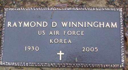 WINNINGHAM (VETERAN KOR), RAYMOND D - White County, Arkansas | RAYMOND D WINNINGHAM (VETERAN KOR) - Arkansas Gravestone Photos